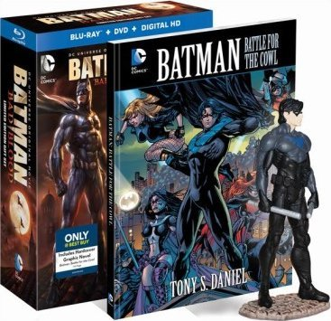 Batman: Bad Blood - Limited Edition Includes Graphic Novel ...