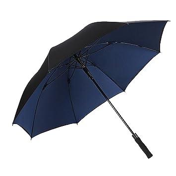 Paraguas Paraguas Largo Resistencia al Viento Doble Ms Hombre automático Grande Doble Capa Resistente y Duradera Paraguas de Negocios Refuerzo Sombrilla ...