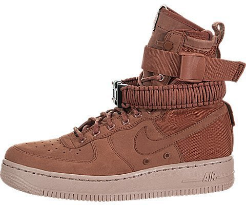Dusty Peach - NIKE Women's Air Force 1 Dusty Peach 857872-202 (Size: 7)