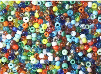 Amazon.com: Seed Beads Size 8/0 Colorful Seed Bead Mix: Arts ...