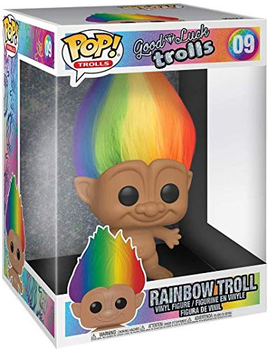 "Funko Pop! Trolls: Trolls Classic - 10"" Troll Multicolored Hair (Styles May Vary)"