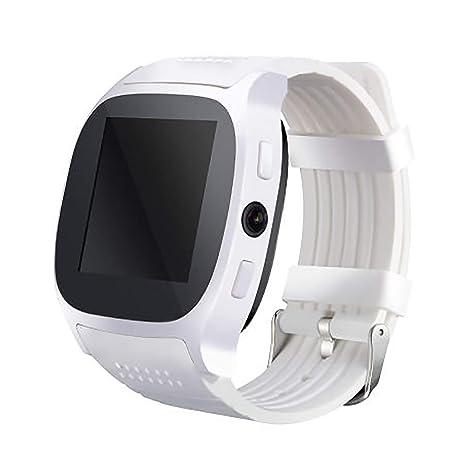 Ho Clock Reloj Inteligente Bluetooth con Soporte para Cámara ...