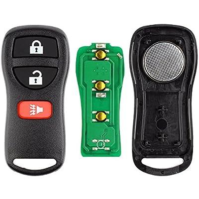 KeylessOption Keyless Entry Remote Control Car Key Fob Replacement for KBRASTU15, CWTWB1U733: Automotive