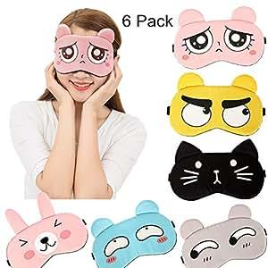 Amazon.com: Máscara de dormir divertida para dormir suave ...