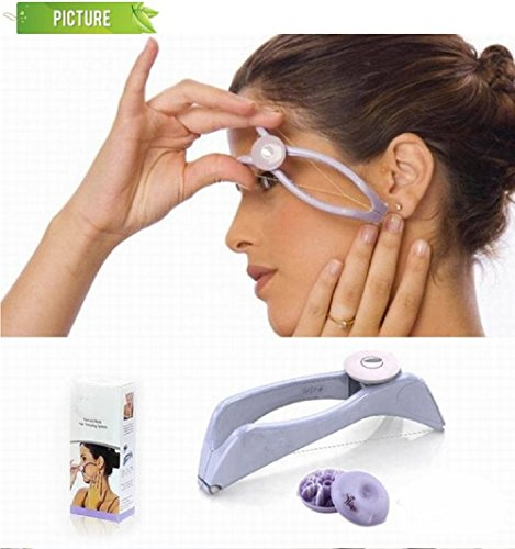 LB-Body Hair Epilator Threader System Facial Hair Removal Makeup