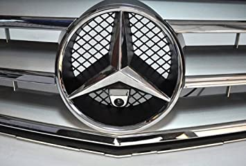 XCarlink Camara Frontal para Mercedes en Cromo: Amazon.es ...