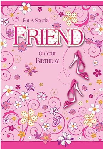 Para un amigo especial en tu cumpleaños feliz zapatos y ...
