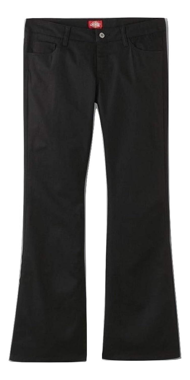 Dickies Juniors Classic 5-Pocket Twill Pants Size 7 Black