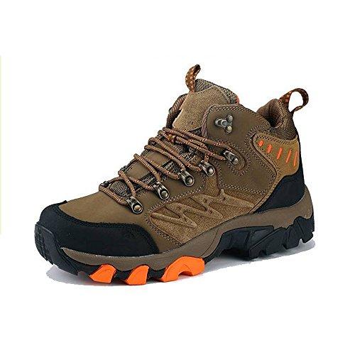 Caída CHT Hombres Al Aire Libre Del Resorte Del Invierno Montañismo Espesado De Trekking Zapatos De Tamaño Marrón Verde Multi-código Opcional Brown