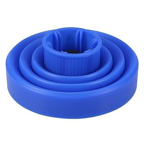Fossen Universal Silicona Plegable Difusor para Secador de pelo (Azul)