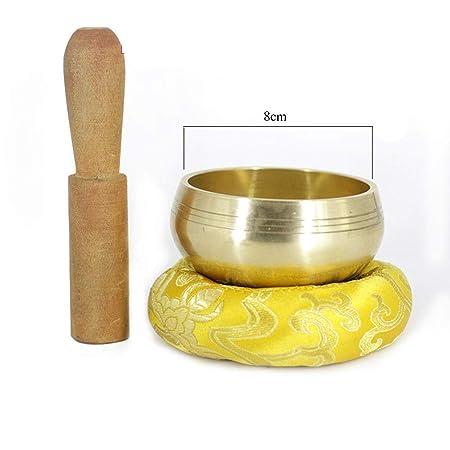 Yuefensu Cuenco Tibetano Tazón de meditación Tibetano de ...