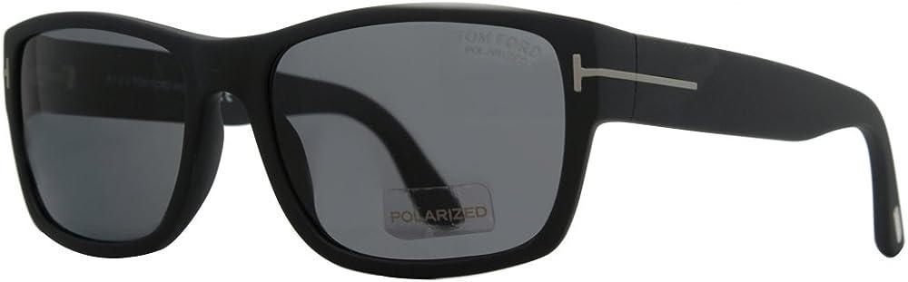 Brand New Tom Ford Sunglasses TF 0445 445 01N Black//Gray  Men
