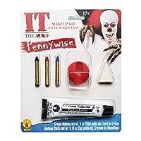 Kit de maquillaje para adultos Rubie para hombres, Pennywise, Múltiples, Talla única