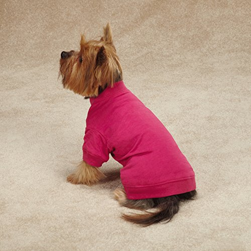 Zack & Zoey Basic Tee Shirt for Dogs,16''  Medium, Pink by Zack & Zoey (Image #1)