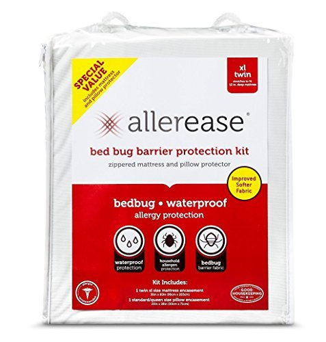 Allerease Allergy Protection Zippered Mattress & Pillow Case