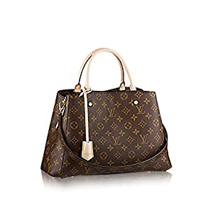 10. Louis Vuitton Montaigne MM Monogram Handbag
