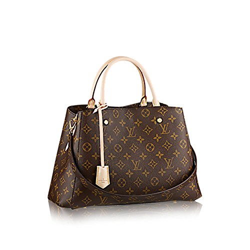 Bag Montaigne - Louis Vuitton Montaigne MM Monogram Handbag Article: M41056 Made in France