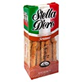 Stella D'Oro Breadsticks, Sesame, 5.5-Ounce Packages (Pack of 12)