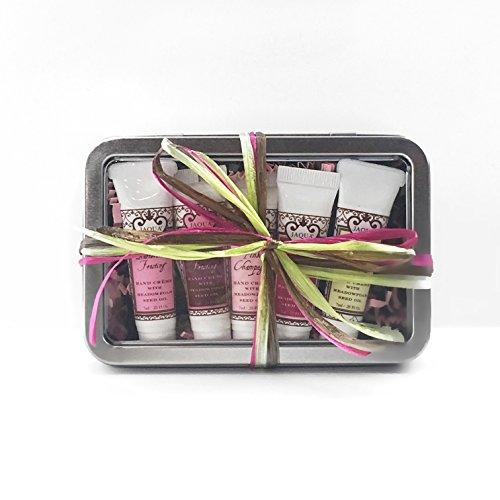Jaqua Raspberry Buttercream Frosting (Jaqua Beauty Hand Cream Set | Sweet Mini Hand Cream Fragrance Sampler Gift Set)