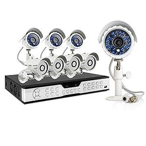 Zmodo 16 CH Economy Surveillance Camera System & 8 600TVL Outdoor Cameras by Zmodo