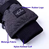 CAMYOD Waterproof Ski Snowboard Gloves with 3M