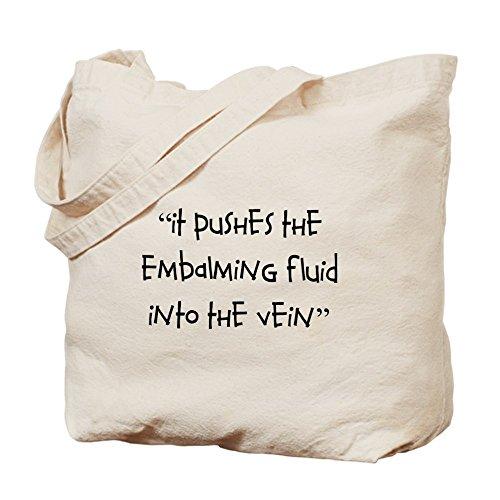 CafePress–Funeral direttore/Mortician–Borsa di tela naturale, panno borsa per la spesa