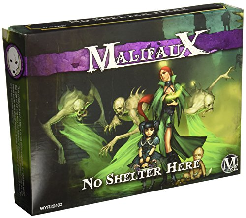 Wyrd Miniatures Malifaux Neverborn No Shelter Here Model ()