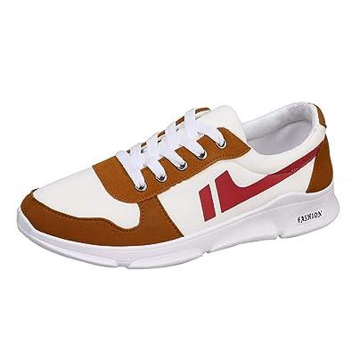 Zapatos Hombre 2018 Zapatillas Hombres Running Zapatos de Deporte con Cordones y Punta Redonda Gimnasio Sneakers Deportivas Transpirables: Amazon.es: ...