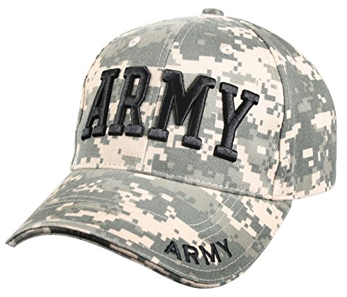 - Rothco Deluxe Low Profile Cap/Army- ACU Digital
