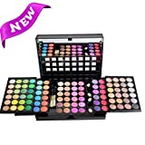 FantasyDay Pro 96 Colours Eyeshadow Palette Makeup Cosmetic Contouring Kit Combination with Blusher / Lipgloss / Concealer etc. – Ideal for Professional and Daily Use