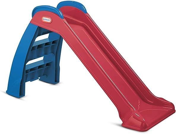 Tobogán Pequeño Desmontable Juguete De Escalada para Niños para Interiores Juguete Combinado Plegable Tobogán De Jardín (Color : Red, Size : 118 * 71cm): Amazon.es: Hogar