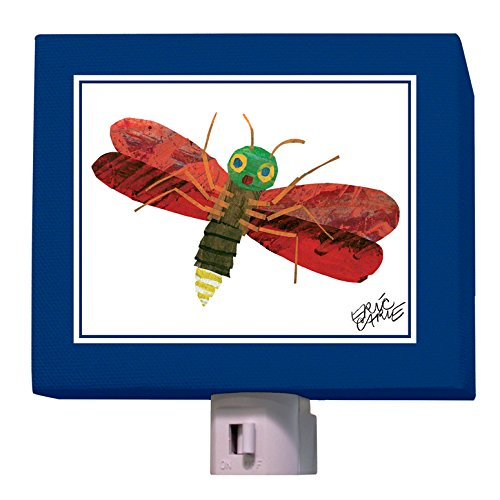 "Oopsy Daisy Eric Carle's Night Light, Firefly, 5"" x 4"""