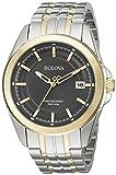 Bulova Men's Quartz Stainless Steel Dress Watch (Model: 98B273)