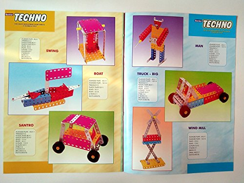 SENIOR TECHNO ,Construction Toys Mechanical Kit For Kids - (Age 6+) with guide book by JAGGERMART (Image #4)
