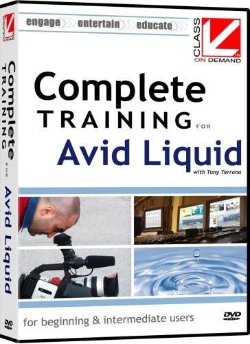 Avid Liquid (Class on Demand: Complete Training for Avid Liquid 7: Educational Training Tutorial DVD)