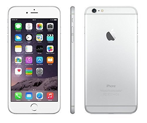 Apple iPhone 6 Plus Silver 64GB Unlocked Smartphone (Certified Refurbished)