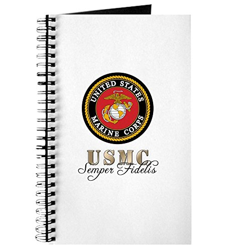 CafePress - Semper Fidelis Marine Corps - Spiral Bound Journal Notebook, Personal Diary, Task Journal (Diary Military)