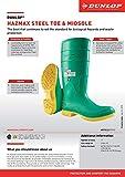 Dunlop Hazmax 87012 Hazmat Men's Superpoly Green