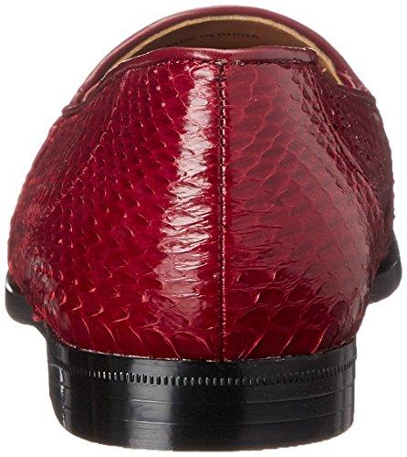 Men's Brutini Giorgio Slip 15063 On Red Loafer 4wdfxqd