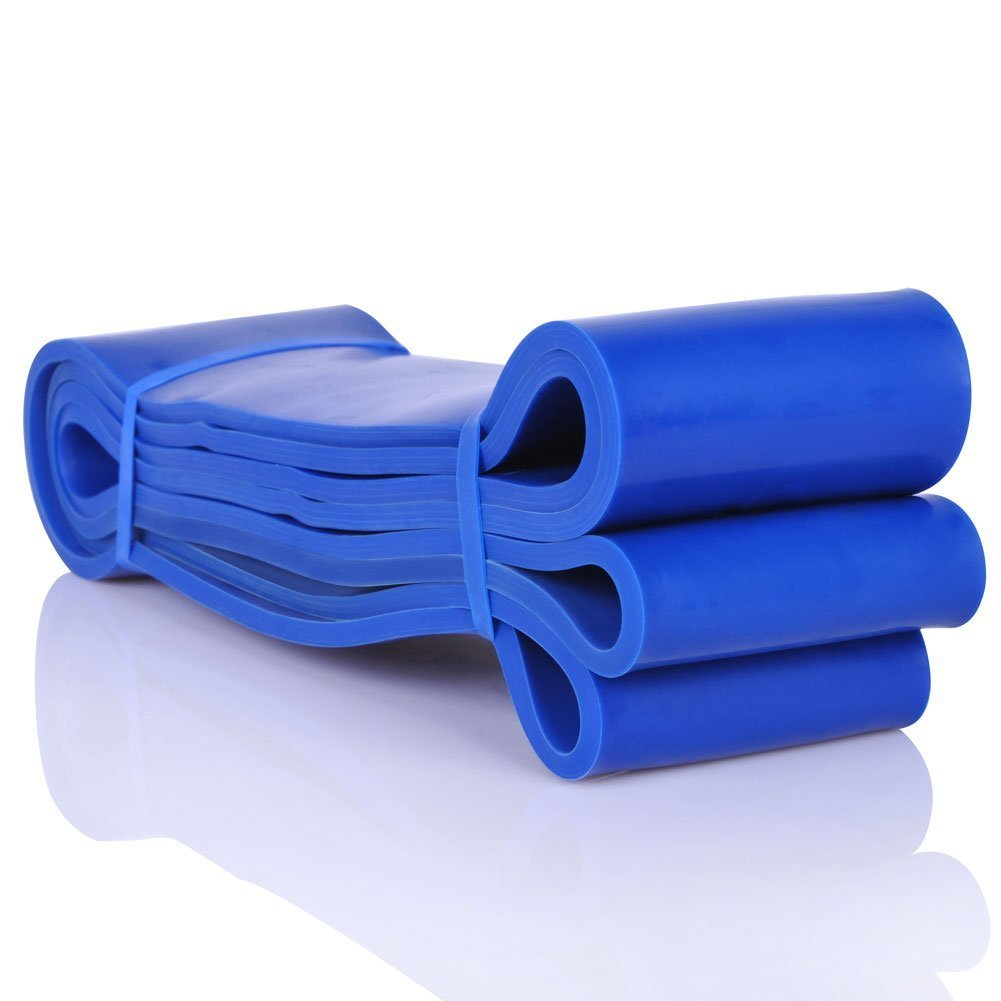*BLUE* - Resistance Band - Crossfit - Power Lifting - Weight Lifting - Pull Up - Gym - Medium to Heavy Resistance HealthCentre