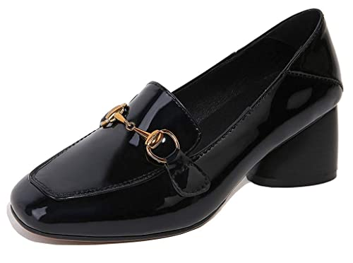 183c8432297 U-lite Women s Horse-bit Detailed 6 cm Heel Comfy Slip-on Pump ...