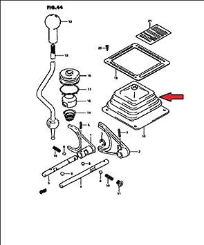 Fuelle Guardapolvo Palanca de Cambios para TRANSFER GEAR - 29346-80100: Amazon.es: Coche y moto