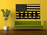 best army wall decals Wall Decal Vinyl Sticker Decals Peal And Stick Cheap Decor Art American Army Navy Marine Military Soldier Troops Salute American Flag L391