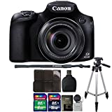 Canon PowerShot SX60 HS 16.1MP 65X Optical Zoom Wifi / NFC Enabled Digital Camera + 24GB Accessory Kit