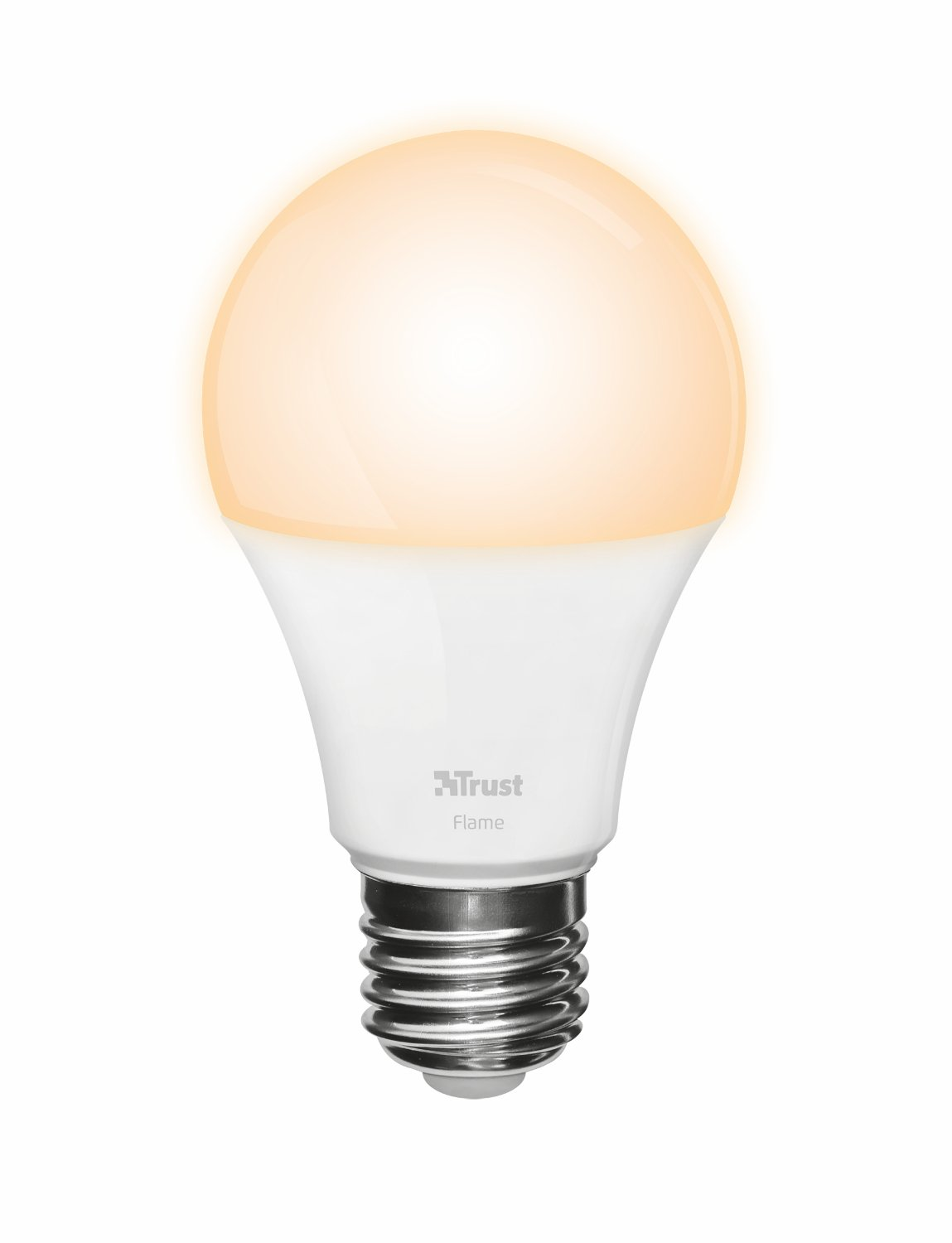 Trust Smart Home ZLED-2209 - Bombilla LED Inteligente Regulable, luz cálida, Color Blanco: Amazon.es: Informática