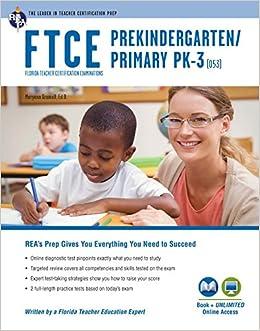 FTCE Pk/Primary Pk-3 Book + Online Ftce Teacher