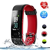 Best Cheap Fitness Trackers - Letsfit Fitness Tracker with Heart Rate Monitor, Color Review