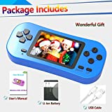 Douddy Kids Retro Handheld Game Console Built in