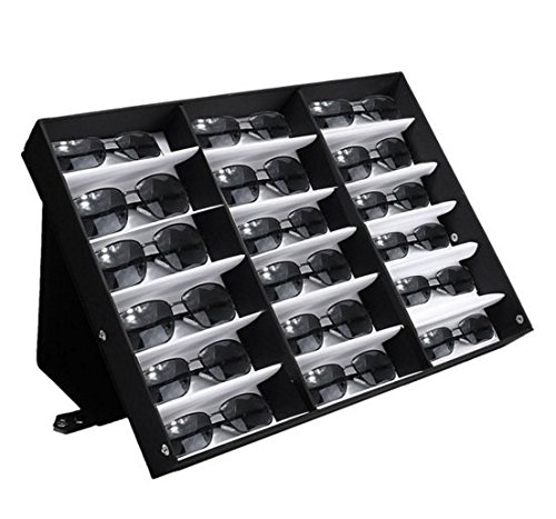 18 Sunglasses Reading Glasses Eyewear Display Stand Storage Box Case Retail Shop by Abcstore99 - Sun Chi Machine