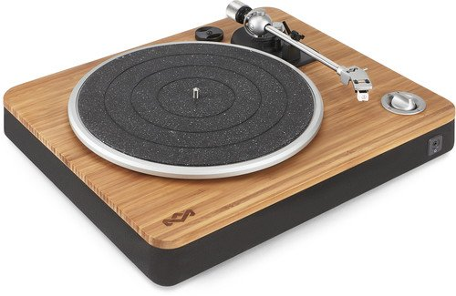 Hom Emjt000sb Stir It Up Turntable Bluetth Bamboo Turntable